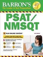 Barrons PSAT/NMSQT : With Bonus Online Tests : 19e -