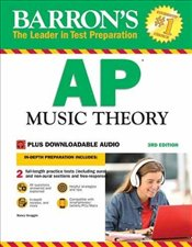 Barrons AP Music Theory : With Downloadable Audio Files : 3e - Scoggin, Nancy