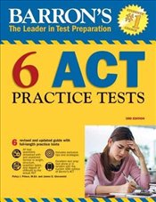 Barrons 6 ACT Practice Tests 3e -