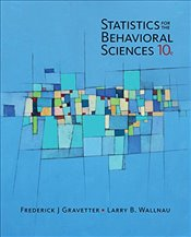 Statistics for the Behavioral Sciences 10e - Gravetter, Frederick