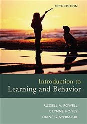 Introduction to Learning and Behavior - Honey, P.