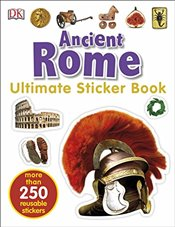 Ancient Rome Ultimate Sticker Book -