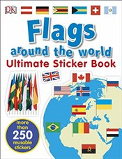 Flags Around the World Ultimate Sticker Book -