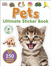 Pets Ultimate Sticker Book -