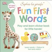 Sophie la girafe Fun First Words : Play-and-Learn Sticker Book for Little Hands! -