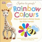 Sophie la girafe Rainbow Colours : Play-and-Learn Sticker Book for Little Hands! -