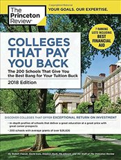 Colleges That Pay You Back : 2018 Edition  -