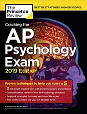 Cracking the AP Psychology Exam : 2019 Edition  -