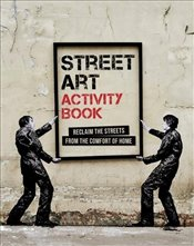Street Art Activity Book  - Beazley, Mitchell
