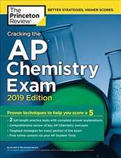 Cracking the AP Chemistry Exam 2019 Edition - Review, Princeton