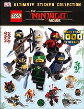 LEGO NINJAGO Movie :  Ultimate Sticker Collection - Peet, Rosie