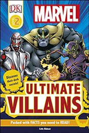 Marvel Ultimate Villains : DK Readers Level 2  -