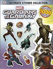 Guardians of the Galaxy Ultimate Sticker Collection   - Jones, Nick