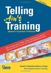 Telling Aint Training - Stolovitch, Harold D.