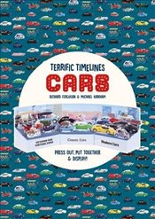 Terrific Timelines : Cars : Press Out, Put Together and Display! - Ferguson, Richard