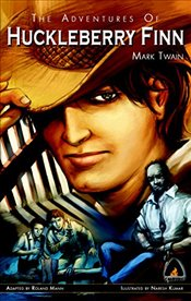 Adventures of Huckleberry Finn (Campfire Graphic Novels) - Twain, Mark