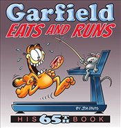 Garfield Eats and Runs: His 65th Book - Davis, Jim
