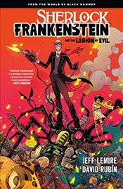 Sherlock Frankenstein And The Legion Of Evil - Lemire, Jeff