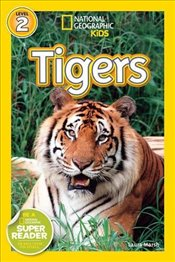 National Geographic Kids Readers: Tigers (National Geographic Kids Readers: Level 2) - Marsh, Laura