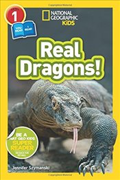 National Geographic Kids Readers : Real Dragons - Kids, National Geographic
