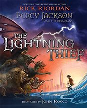 Percy Jackson and the Olympians the Lightning Thief Illustrated Edition (Percy Jackson & the Olympia - Riordan, Rick