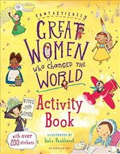 Fantastically Great Women Who Changed the World Activity Book - Pankhurst, Kate