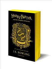 Harry Potter and the Chamber of Secrets – Hufflepuff Edition - Rowling, J. K.