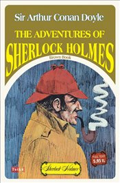 Adventures Of Sherlock Holmes : Brown Book  - Doyle, Arthur Conan