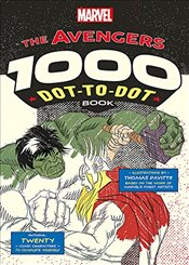 Marvels Avengers 1000 Dot-to-Dot Book : Twenty Comic Characters to Complete Yourself - Pavitte, Thomas