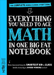 Everything You Need to Ace Math in One Big Fat Notebook: The Complete Middle School Study Guide (Big - Peterson, Altair