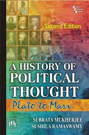 History of Political Thought : Plato to Marx - Ramaswamy, Sushila