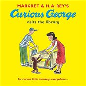 Curious George Visits the Library - Rey, Margret