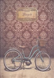 NoteLook - Retro Bicycle Multi Defter 11x15 -