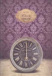 NoteLook - Retro Clock Multi Defter 11x15 -