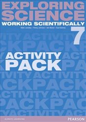 Exploring Science : Working Scientifically Activity Pack Year 7 (Exploring Science 4) - Levesley, Mark