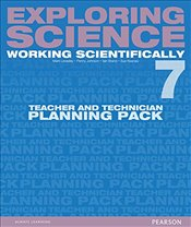 Exploring Science: Working Scientifically Teacher & Technician Planning Pack Year 7 (Exploring Scien - Levesley, Mark