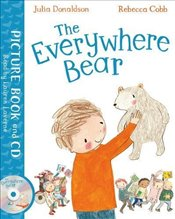Everywhere Bear: Book and CD Pack - Donaldson, Julia