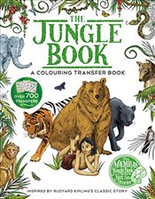 Jungle Book : A Colouring Transfer Book - Kipling, Rudyard