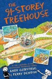 91-Storey Treehouse (The Treehouse Books) - Griffiths, Andy
