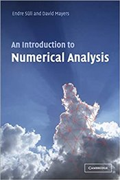 Introduction to Numerical Analysis - Süli, Endre
