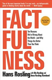 Factfulness: Ten Reasons Were Wrong about the World-And Why Things Are Better Than You Think (Inte - Rosling, Hans