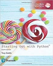 Starting Out With Python 4é      - Gaddis, Tony