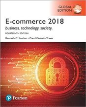 E-Commerce 2018 14e GE Business Technology Society  - Laudon, Kenneth C.