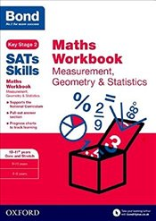 Bond SATs Skills : Maths Workbook: Measurement, Geometry & Statistics 10-11+ Years Core and Stretch - Baines, Andrew