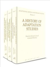 Adaptations : Critical and Primary Sources - Cartmell, Deborah