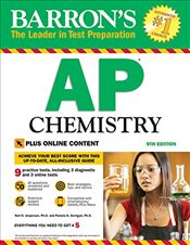 Barrons AP Chemistry 9e : With Bonus Online Tests - Jespersen, Neil D.