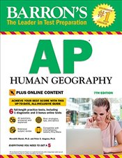 AP Human Geography: with Bonus Online Tests (Barrons AP Human Geography) - Marsh, Meri