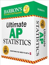 Barrons Ultimate AP Statistics: Everything You Need to Get a 5 - Sternstein, Martin