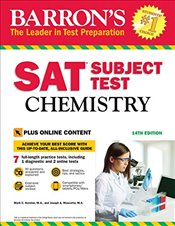 Barrons SAT Subject Test Chemistry 14e : With Bonus Online Tests - Kernion, Mark