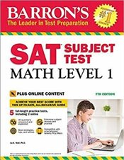 SAT Subject Test Math Level 1 7e : With Bonus Online Tests - Wolf, Ira